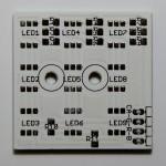 LED-Cluster Platine