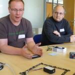 René stellt neue Matrix-Platinen vor