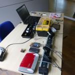 Testaufbau zur Hausautomation mit Arduino