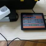 ein Android-Tablet dient zur Steuerung im Haus