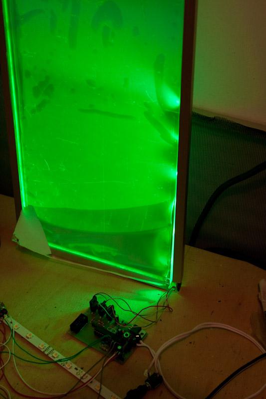 Plexiglas LED-Panel