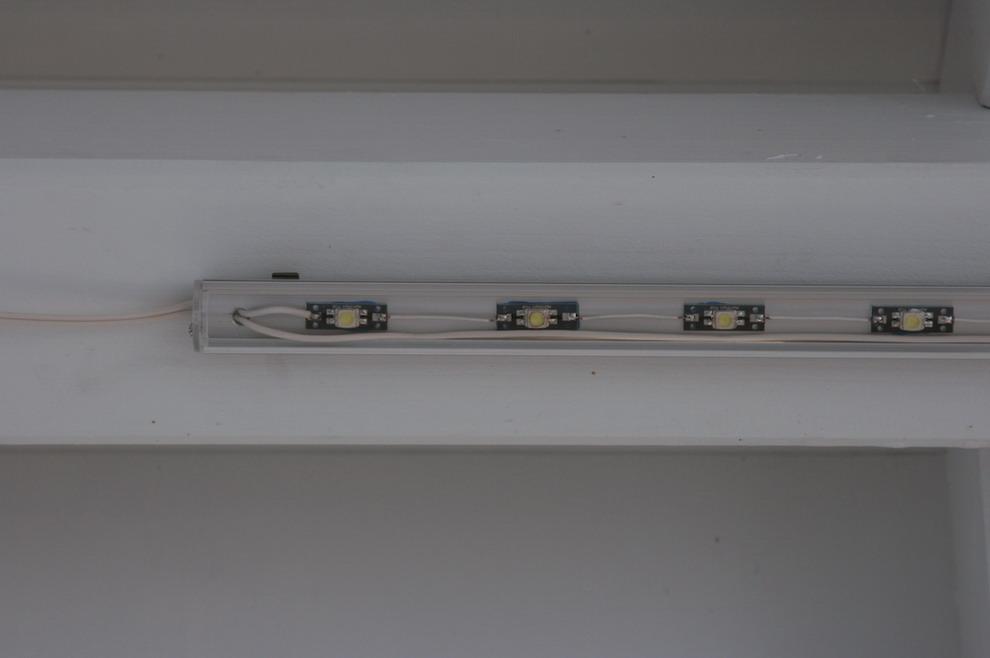 sparsame Carport-Beleuchtung -