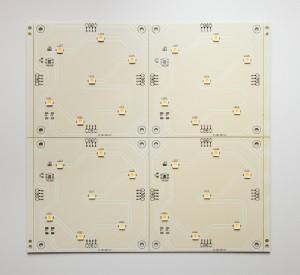 4er Panel mit LEDs
