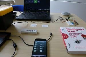 Steuerung per Handy oder PC ist möglich