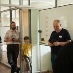Steffen eröffnet den OpenSpace für jung und alt