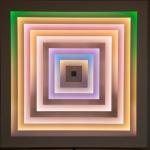 Lichtkunstwerk von Betty Rieckmann