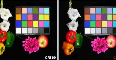 Vergleich Farbqualität bei LED
