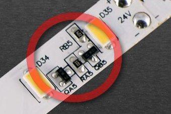 Treiber für Konstantstrom auf LED-Streifen