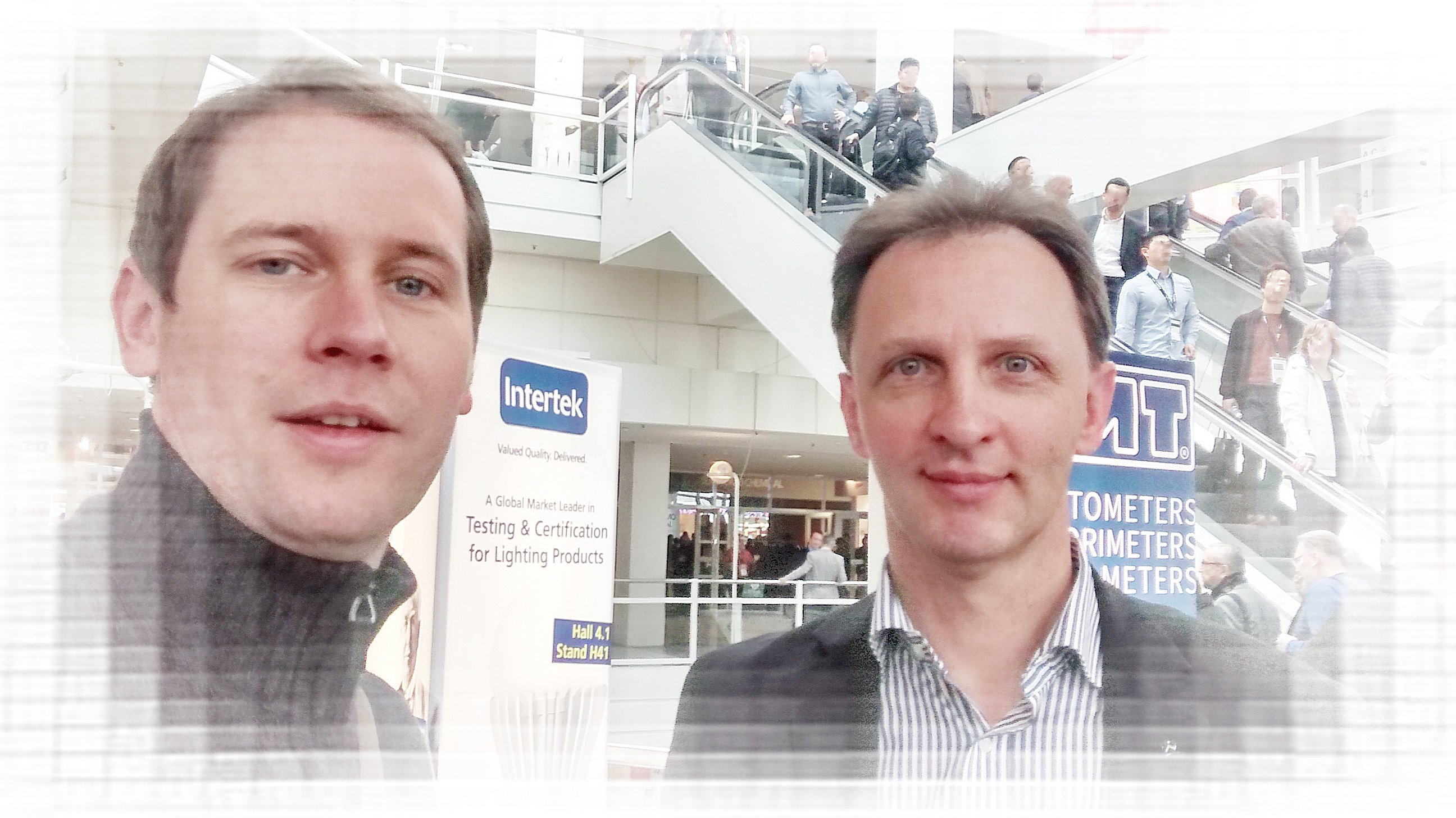 Dennis & Nino auf der Light+Building 2016