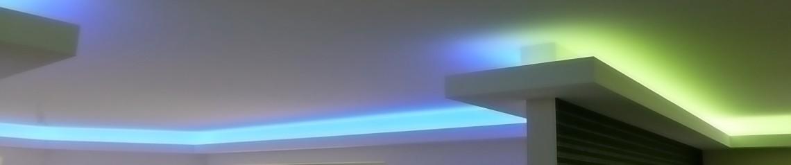 Aufbau anleitung f r eine indirekten beleuchtung mit led - Indirekte wandbeleuchtung ...
