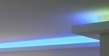 Indirekte Beleuchtung mit PHILIPS HUE Alternative
