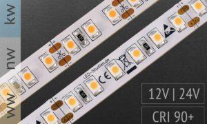RGBW LED-Streifen in 12 Volt und 24 Volt Ausführung