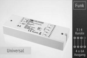 RGB (W) LED Controller LK55-8 von LED-Studien-de