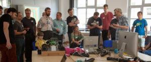 Session-Teilnehmer beim OpenSpace