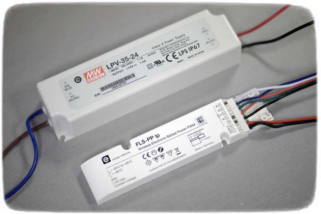 FLS-PP ZigBee Controller und LPV-35-24 Netzteil