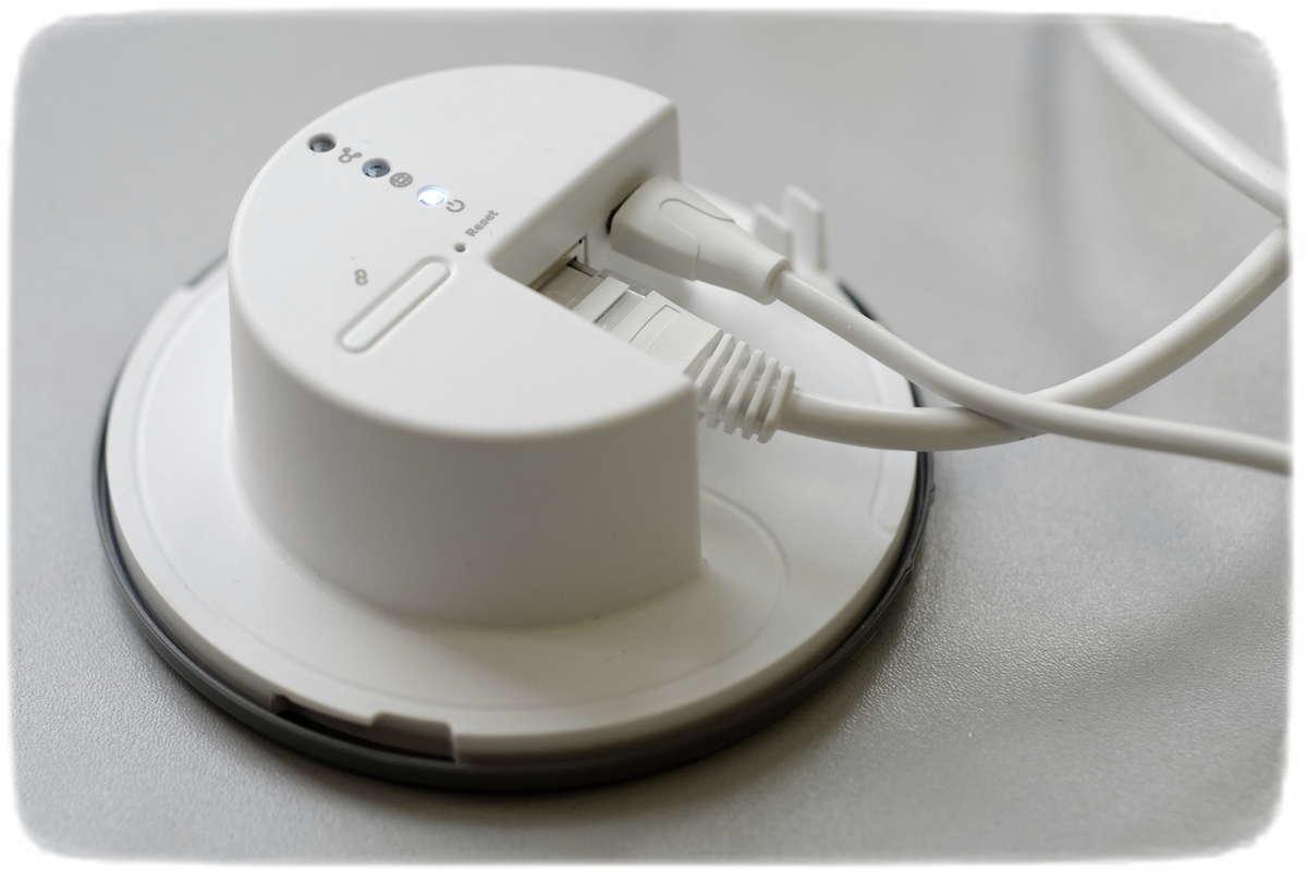 Gateway des Systems zur Lichtsteuerung IKEA TRADFRI