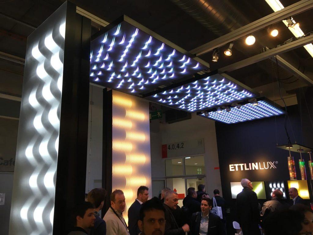Ettlinlux Textilien für 3D Lichteffekte