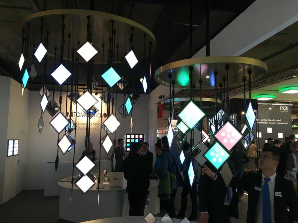 LED Panels, farbig, ultradünn