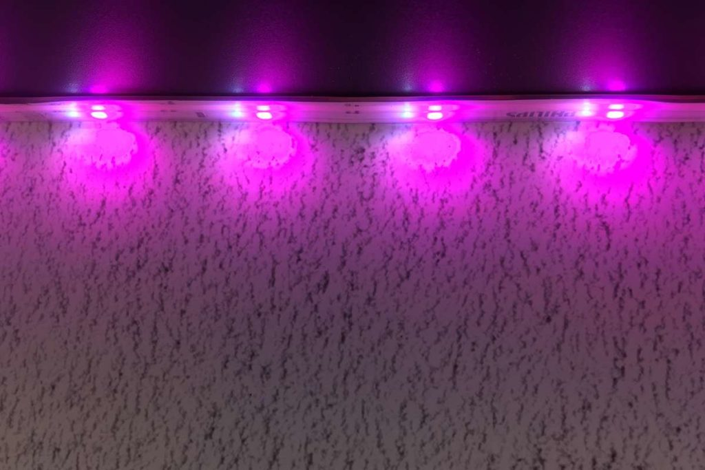 Philips Hue LED Strip Plus LED-Abstand