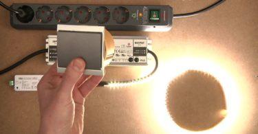 LED-Streifen mit Wand-Dimmer regeln