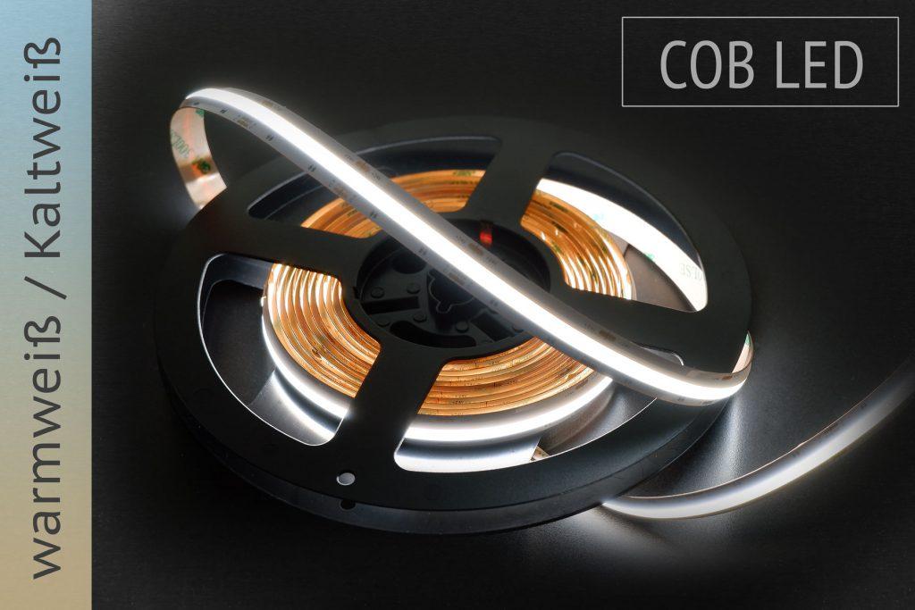 COB LED Streifen mit einstellbarer Farbtemperatur