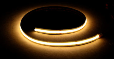 COB-LED-Streifen leuchtend
